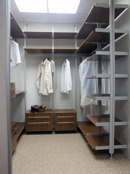 Организация гардеробной своими руками